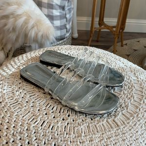 Zara Clear Sandals